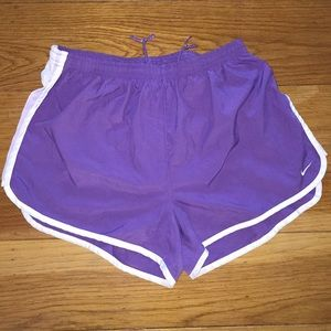 Nike Dri-Fit Shorts Size XL Purple